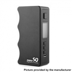 Authentic Dovpo Mono SQ 75W 18650 DNA75C TC VW Variable Wattage Vape Box Mod - Black