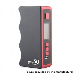 Authentic Dovpo Mono SQ 75W 18650 DNA75C TC VW Variable Wattage Vape Box Mod - Red