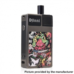 Authentic CoilART Djinni 40W 950mAh Pod System Vape Starter Kit 2.0ml - Demon