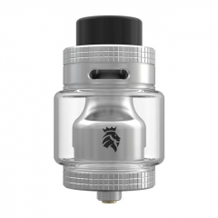 Authentic Kaees Solomon Mesh 25mm RTA Rebuildable Tank Atomizer 6.5ml - Silver