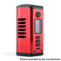 Authentic Dovpo Odin 200 200W TC VV VW 18650/20700/21700 Box Mod - Red