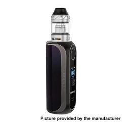 Authentic OBS Cube FP Fingerprint Unlock 80W VW 18650 Box Vape Modw/ Cube Tank 4ml Kit - Shiny Black