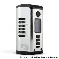 Authentic Dovpo Odin 200 200W TC VV VW 18650/20700/21700 Box Mod - Silver