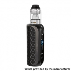 Authentic OBS Cube FP Fingerprint Unlock 80W VW 18650 Box Vape Modw/ Cube Tank 4ml Kit - Matte Black
