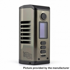 Authentic Dovpo Odin 200 200W TC VV VW 18650/20700/21700 Box Mod - Gun Metal