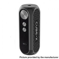 Authentic OBS Cube X 80W VW Variable Wattage Box Mod 18650 - Gun Metal