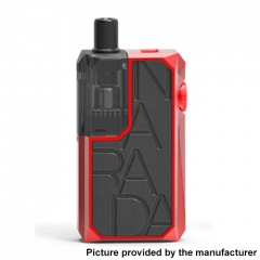 Authentic Augvape Narada Pro 30W VW Pod System Vape MTL / DL Starter Kit 3.7ml - Black Leather