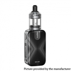 Authentic Aspire Rover 2 NX40 40W 2200mAh VV VW Box Mod Starter Kit w/ Nautilus XS Tank 2ml - Gun Metal