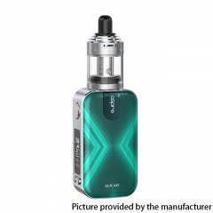 Authentic Aspire Rover 2 NX40 40W 2200mAh VV VW Box Mod Starter Kit w/ Nautilus XS Tank 2ml - Turquoise