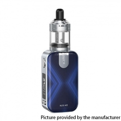 Authentic Aspire Rover 2 NX40 40W 2200mAh VV VW Box Mod Starter Kit w/ Nautilus XS Tank 2ml - Navy Blue