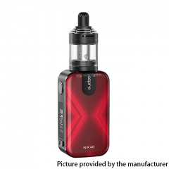 Authentic Aspire Rover 2 NX40 40W 2200mAh VV VW Box Mod Starter Kit w/ Nautilus XS Tank 2ml - Ruby