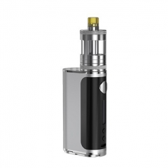 Authentic Aspire Nautilus GT 75W 18650 VW Box Mod Vape Starter Kit 3ml - Silver