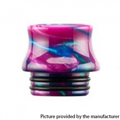 Authentic Reewape Resin Replacement 810 Drip Tip for SMOK TFV8 / TFV12 Tank / Kennedy / Battle / Reload RDA - Purple AS300