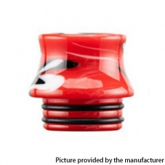 Authentic Reewape Resin Replacement 810 Drip Tip for SMOK TFV8 / TFV12 Tank / Kennedy / Battle / Reload RDA - Red AS300