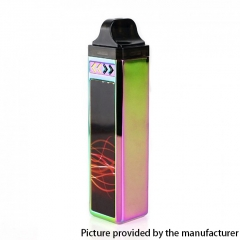 Authentic EGQ B011 1000mAh VW Box Mod Pod System Vape Starter Kit 1.6ohm - Rainbow