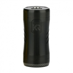 Authentic KIZOKU Kirin Semi-Mech 18350/18650 Mechanical Tube Vape Mod 24mm - Black