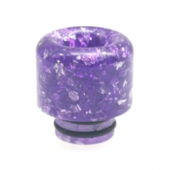 ULPS Replacement 510 Resin MTL Drip Tip - Purple