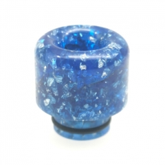 ULPS Replacement 510 Resin MTL Drip Tip - Blue