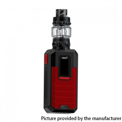 Authentic Smoant Ladon 225W 18650 TC VW Box Vape Mod + AIO 2in1 Tank Vape Kit - Red