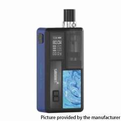 Authentic Smoant Knight 80 80W 18650 TC VW Box Mod RBA Pod System Vape Starter Kit - Bronze Blue