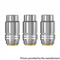 Authentic Smoant Knight 80 TC VW Mod RBA Pod Kit / Cartridge Replacement Dual Mesh Coil Head 0.4ohm 3pcs - Silver