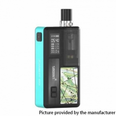 Authentic Smoant Knight 80 80W 18650 TC VW Box Mod RBA Pod System Vape Starter Kit - Tiffany Blue