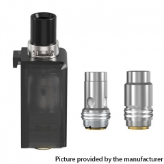 Authentic Smoant Knight 80 TC VW Mod RBA Pod System Kit Replacement Pod Cartridge w/ 0.3ohm & 0.4ohm Mesh Coils 4ml
