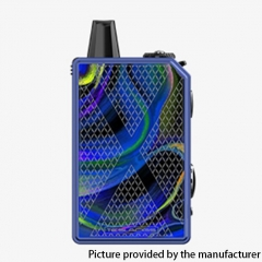 Authentic Teslacigs Invader GT 50W 1200mAh VW Box Mod Pod System Vape Starter Kit 3ml - Orchid Realm