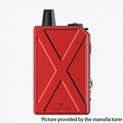 Authentic Teslacigs Invader GT 50W 1200mAh VW Box Mod Pod System Vape Starter Kit 3ml - Red