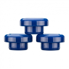 Authentic Reewape Resin Replacement 810 Drip Tip for SMOK TFV8 / TFV12 Tank / Kennedy / Battle / Reload RDA - Blue AS304 1pc