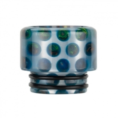 Authentic Reewape Resin Replacement 810 Drip Tip for SMOK TFV8 / TFV12 Tank / Kennedy / Battle / Reload RDA - Blue AS306 1pc