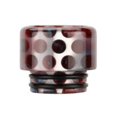 Authentic Reewape Resin Replacement 810 Drip Tip for SMOK TFV8 / TFV12 Tank / Kennedy / Battle / Reload RDA - Red AS306 1pc