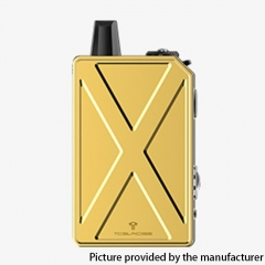 Authentic Teslacigs Invader GT 50W 1200mAh VW Box Mod Pod System Vape Starter Kit 3ml - Yellow