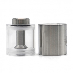 ULTON Replacement PMMA + SS Bell Cap w/Short Chimney for FEV 3/4/4.5 Atomizer 3.5ml