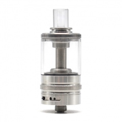 SXK The Syclla Style MTL 316SS 22mm RTA Rebuildable Tank Vape Atomizer 4ml - Silver