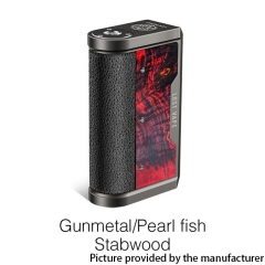 Authentic Lost Vape Centaurus DNA 250C 200W TC VW Box Vape Mod - Gun Metal /Pearl Fish Stabwood