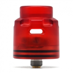 Authentic Hellvape Dead Rabbit SE 24mm RDA Rebuildable Dripping Vape Atomizer w/ BF Pin - Red