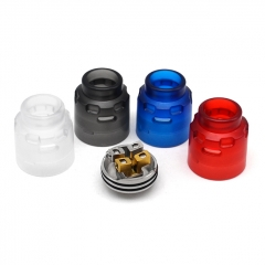 Authentic Hellvape Dead Rabbit SE 24mm RDA Rebuildable Dripping Vape Atomizer Kit w/ BF Pin - Blue + Black + Red + Clear