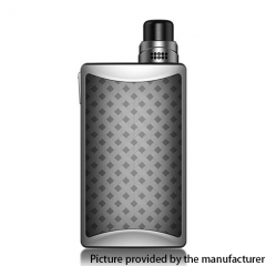 Authentic Vandy Vape Kylin M AIO 70W TC VV VW Box Mod RBA 18650 Pod System Vape Starter Kit 5ml - Silver Moonlight