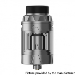 Authentic Augvape Intake 25mm Sub Ohm Tank Vape Atomizer 5ml - Silver