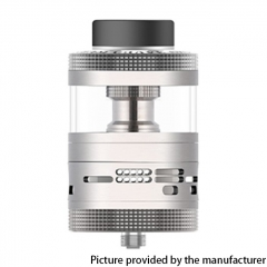 Authentic Steam Crave Aromamizer Ragnar 35mm RDTA Rebuildable Dripping Tank Vape Atomizer 18ml - Silver