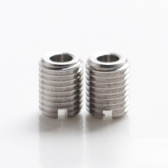 Authentic Auguse Era MTL RTA Replacement E-liquid / E-juice Flow Refilling Wick Screws 2mm(2pcs) - Silver