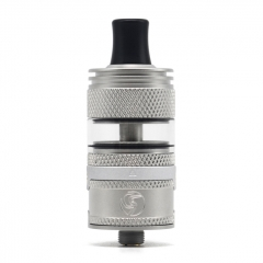 (Ships from Germany)Authentic Auguse Era MTL 22mm RTA Rebuildable Tank Atomizer 3ml - Matte Silver