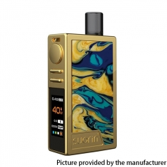 Authentic Suorin Elite 40W 1100mAh VW Mod Pod System Vape Starter Kit 3.1ml/1ohm - Gold