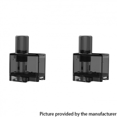 Authentic Suorin Elite Mod Pod Vape Kit Replacement Empty Pod Cartridge 3.1ml 2pcs - Black