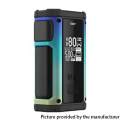 Authentic IJOY Captain 2 180W TC VV VW Variable Wattage Vape Box Mod Dual 18650 - Rainbow
