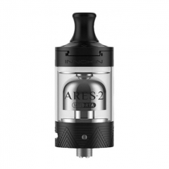Authentic Innokin Ares 2 D24 MTL RTA Rebuildable Tank Atomizer 4ml - Black