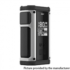 Authentic IJOY Captain 2 180W TC VV VW Variable Wattage Vape Box Mod Dual 18650 - Gun Metal