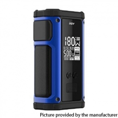 Authentic IJOY Captain 2 180W TC VV VW Variable Wattage Vape Box Mod Dual 18650 - Blue