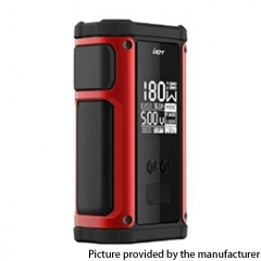 Authentic IJOY Captain 2 180W TC VV VW Variable Wattage Vape Box Mod Dual 18650 - Red